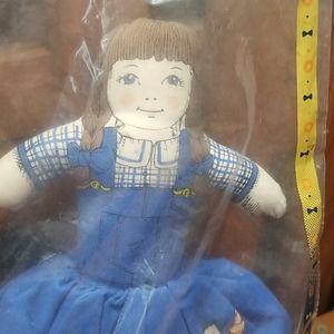 Avon Toys - Vintage Avon Day Night Topsy Turvy Cloth Doll